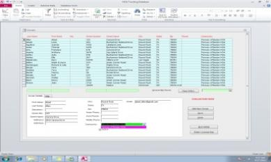 HOA Tracking Database Software Screenshot