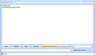 Puran Data Recovery Screenshot