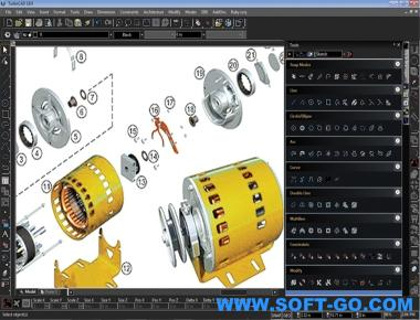 TurboCAD Pro Platinum (64bit) Screenshot