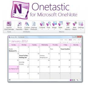 Onetastic for Microsoft OneNote 32bit Screenshot