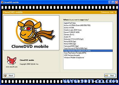 SlySoft CloneDVD Mobile 1.1.3.0