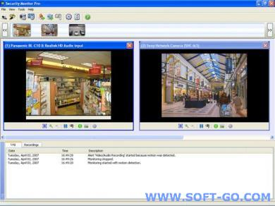 Security Monitor Pro Screenshot