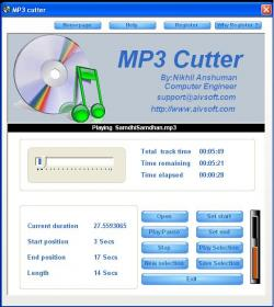AIV MP3 Cutter Screenshot