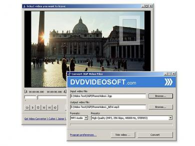 Free 3GP Video Converter Screenshot