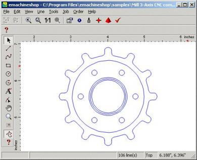 Emachineshop 3d cad free download soft go com for Online 2d drafting software