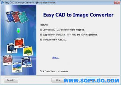 Easy CAD to Image Converter Screenshot