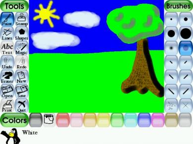 Tux Paint Screenshot