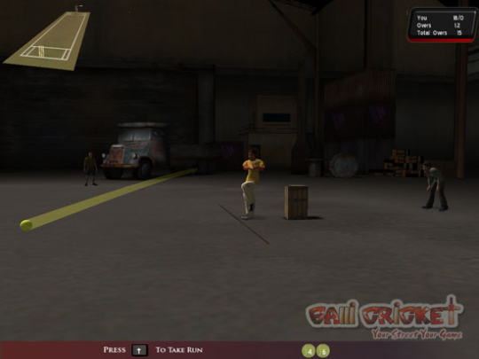 Galli Cricket Screenshot